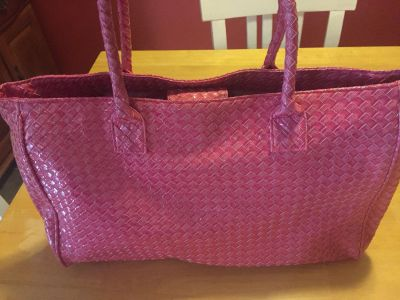 Pink purse/tote