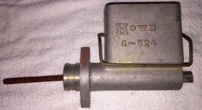 "Sell Vintage Howe 7/8"" Brake Master Cylinder Afco IMCA Allstar Wilwood Tilton CNC motorcycle in Palmdale, California, United States"