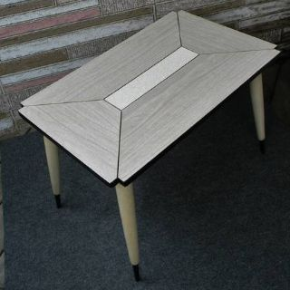 Vintage Mid Century Modern Side Table Coffee Table