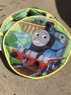 Pop up Thomas the Train tunnel with door