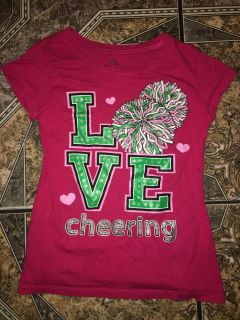 Love cheering top size 12