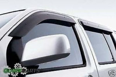 Find 2004-2015 Nissan Titan Crew Cab Side Window Deflector Vent Visor OEM NEW motorcycle in Braintree, Massachusetts, United States, for US $99.25