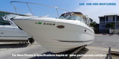 2006, 29 SEA RAY 290 AMBERJACK For Sale