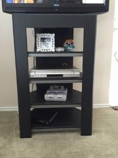 $45, Tv stand multiple shelves