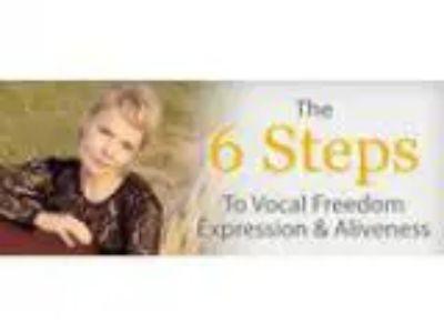 Singing Vocal Freedom Self Expression - April Half Day Workshop
