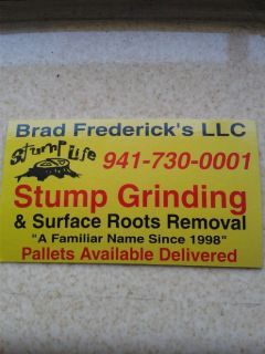 STUMP GRINDING & Surface Roots Removal