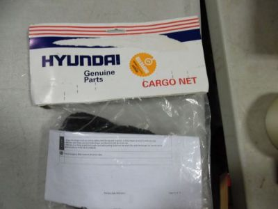 Purchase Genuine Hyundai Accessories 3V017-ADU00 Trunk Net motorcycle in Wooster, Ohio, United States