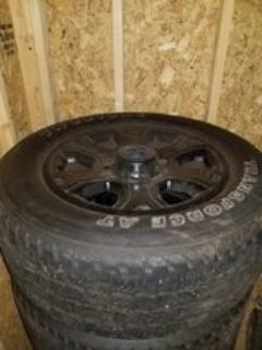 rims and tires for dodge 2500 or 3500