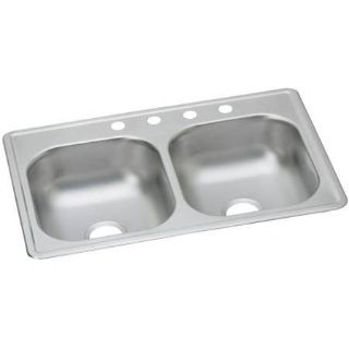 "Elkay Dayton 33"" Stainless Steel Kitchen Sink - New!"