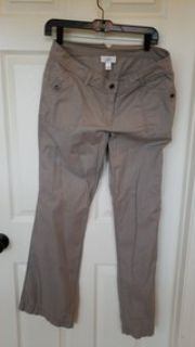 Ladies taupe/gray pants size 10