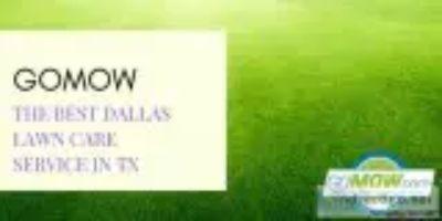 GoMow ndash The best Dallas lawn care service in TX.