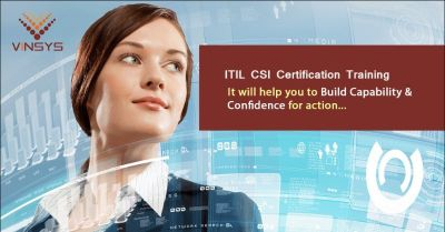 ITIL Intermediate CSI Certification Training in Bangalore from 9th June 2018-Vinsys