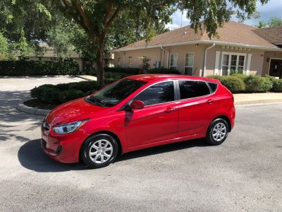 2013 Hyundai Accent GS (Red)
