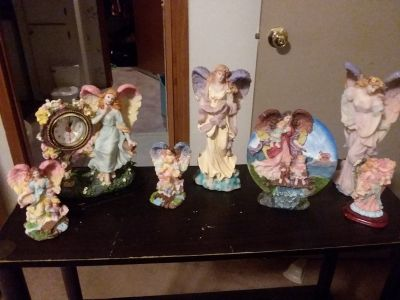 Almost 85 ceramic Angels , excellent condition