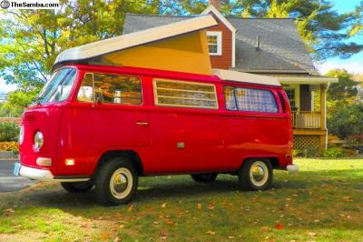"1970 Camper ""Bruno"" Time for a new home"