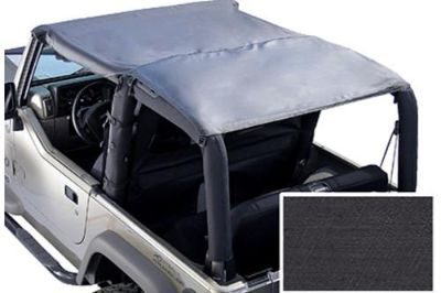 Sell Rugged Ridge 13581.15 - 97-06 Jeep Wrangler Black Denim Island Topper Soft Top motorcycle in Suwanee, Georgia, US, for US $84.37