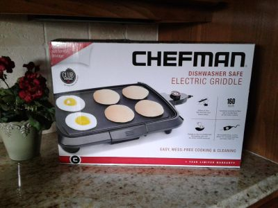 Chefman 16 Inch Electric Griddle