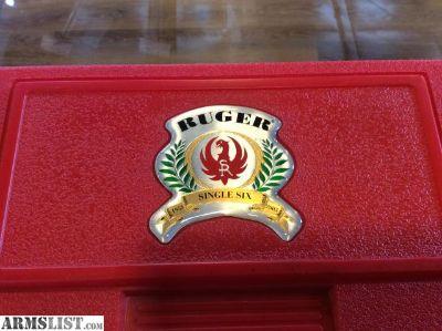 For Sale: Ruger Single-Six .22LR/.22mag