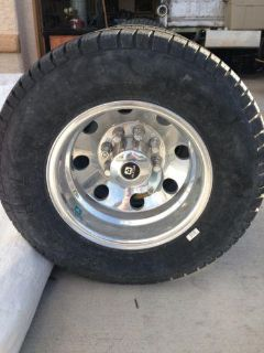 Buy Alcoa Wheels Dually 16 Michelin Tires motorcycle in Las Vegas, Nevada, US, for US $1,200.00