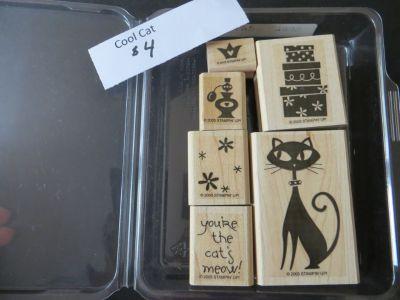 Stampin Up Cool Cat Stamp set