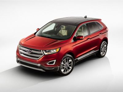 2016 Ford Edge SEL (White Platinum Metallic Tri-Coat)