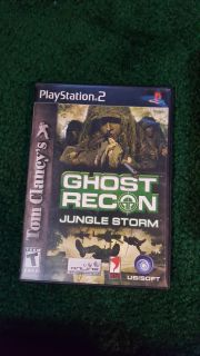 PS2 Ghost Recon Jungle Storm