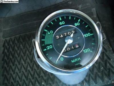 Porsche 356 Speedometer