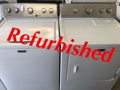 Refurbished Maytag Centennial Washer/220volt Dryer