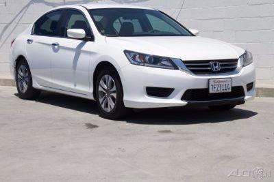 2014 Honda Accord LX (White Orchid Pearl)