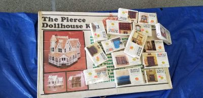 New Pierce dollhouse kit and furniture