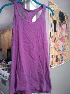 Champion brand razor back tank. Like a built in bra? Size large VGUC