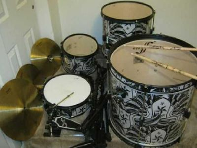 $150 1st Act Drums Complete Set Good Condition [phone removed]