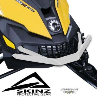 Sell Skinz ChromAlloy Aluminum White Front Bumper - Ski-Doo 2013-2016 Rev-XM & XS motorcycle in Sauk Centre, Minnesota, United States, for US $124.99