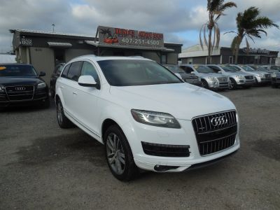 2010 Audi Q7 3.0 quattro TDI Premium Plus (White)