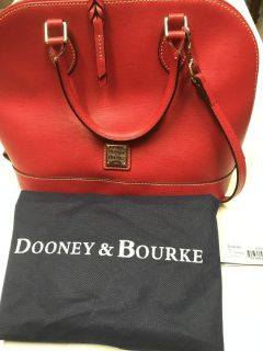 ***AUTHENTIC Dooney & Bourke Handbag With Patricia Nash Wallet***