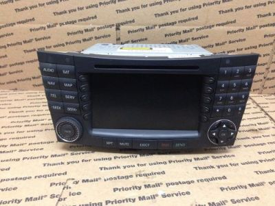 Find 2008 Mercedes E350 E63 CLS500 CLS550 CLS55 CLS63 OEM Navigation Comand Radio #1 motorcycle in Cleveland, Ohio, United States, for US $409.99