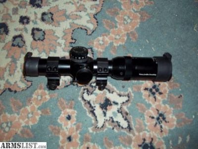 For Sale: FIREFIELD 1X6 ILUMINATED SCOPE