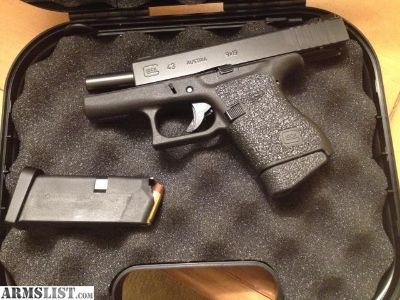 For Sale/Trade: Glock 43 night sights