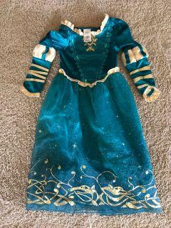 Merida Dress Size 5/6
