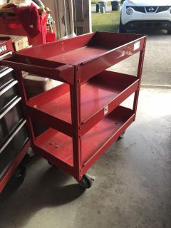 Heavy duty tool cart. Need picked up today. PPu in Milton only