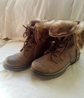 Brown Mossimo Boots Women's 8
