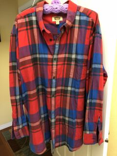 Foundry 3XL Flannel Shirt. Worn one time