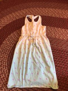 Circo 3T worn once cotton sundress. Upper portion is bright white. Just doesn t show up in pic.