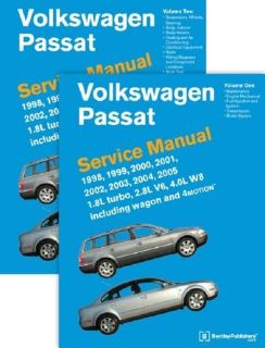 Sell VW Passat 98 to 05 Bentley 2 Volume Set Printed Service Manual #VP05 FREE SHIP motorcycle in Williamsburg, Massachusetts, United States, for US $106.00
