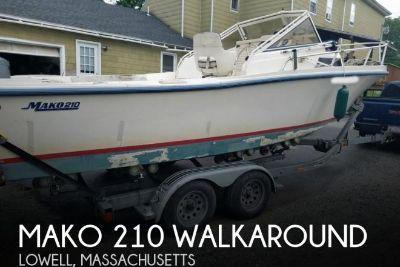 1992 Mako 210 Walkaround