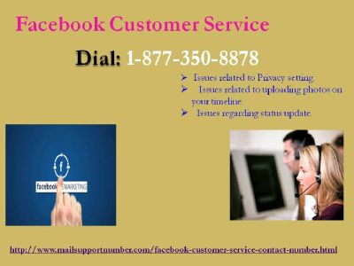 3-Easy Ways In Resolving FB Hitches Via Facebook Customer Service 1-877-350-8878