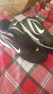 Nike cleats. Never worn 4Y