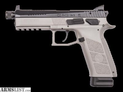 For Sale: CZ USA P-09 in Urban Grey