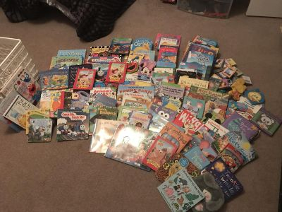 Build a library for your young one. Over 100 books. Make me an offer