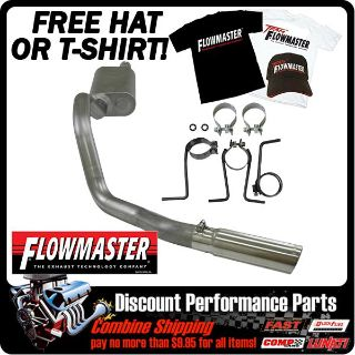 Purchase FLOWMASTER 05-07 FORD F250/F350 5.4-V8 6.8-V10 CAT BACK STAINLESS EXHAUST KIT motorcycle in Richland, Mississippi, US, for US $454.55